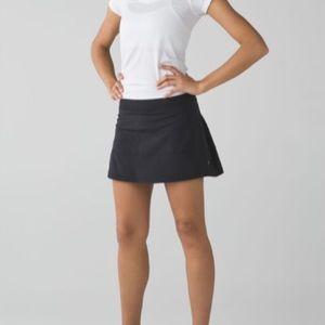 Lululemon Pace Rival black skirt size 2 Tall